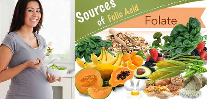 folic acid foods pregnancy