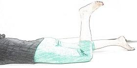 knee back side fold